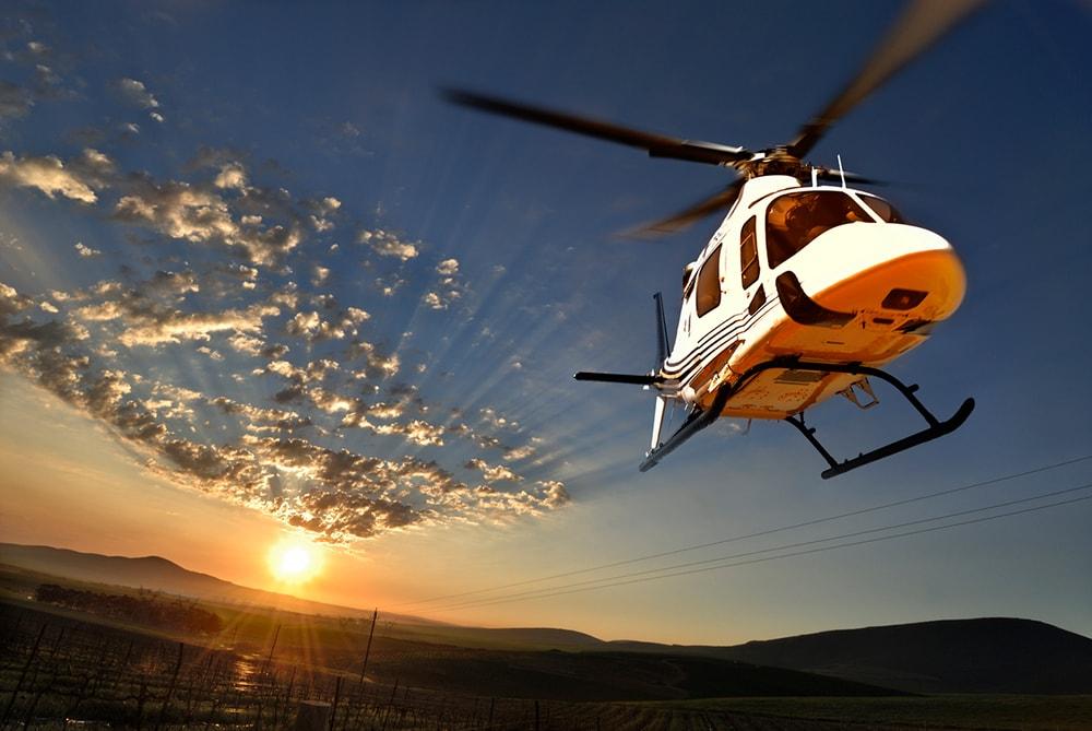 Helikopter Rundflug buchen
